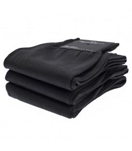 chaussettes fil d'Ecosse uni noir