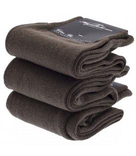 Chaussettes Coton Bio marron clair