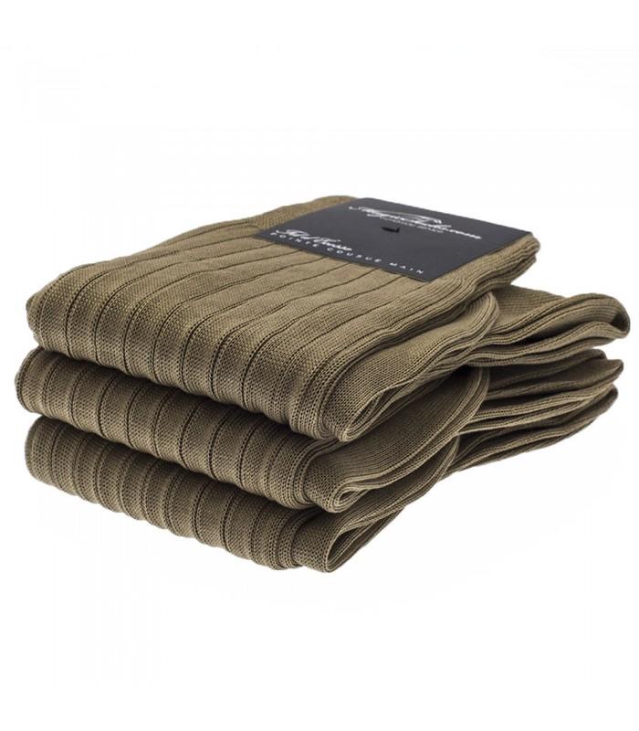 chaussettes homme en fil d ecosse marron clair. Black Bedroom Furniture Sets. Home Design Ideas