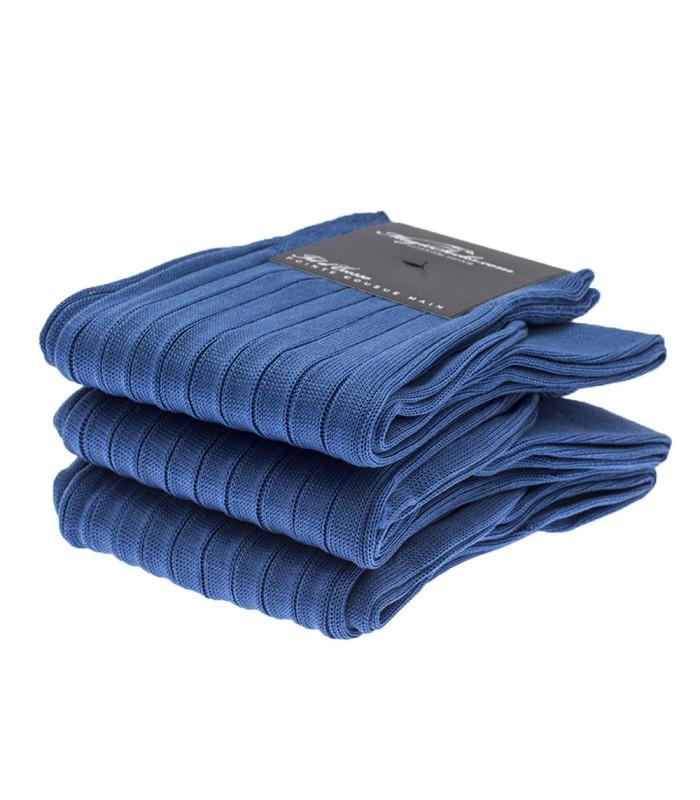 chaussettes homme en fil d ecosse bleu roi sur magic socks. Black Bedroom Furniture Sets. Home Design Ideas