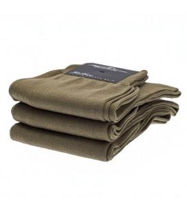 Chaussettes Fil d'Ecosse uni marron clair