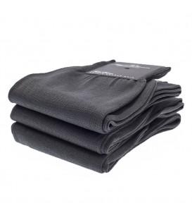 Chaussettes Fil d'Ecosse uni gris anthracite
