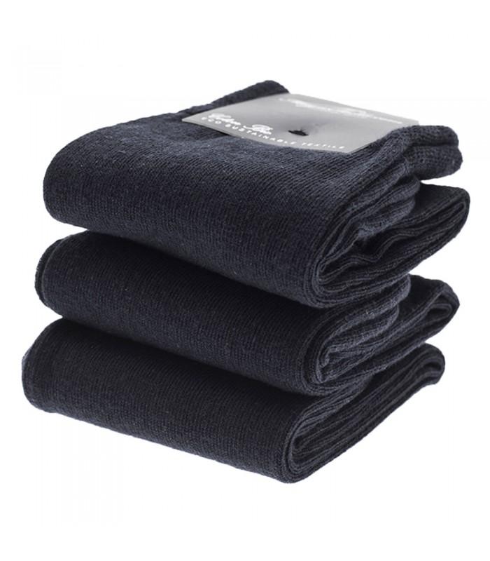 chaussettes homme en coton bio noir. Black Bedroom Furniture Sets. Home Design Ideas